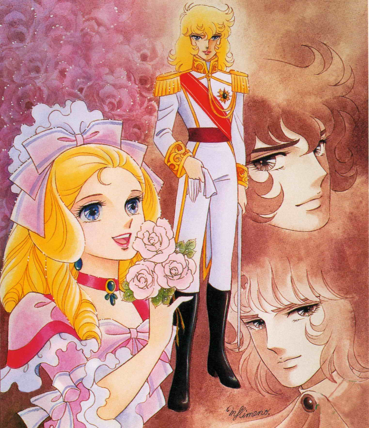 The Rose Of Versailles Episode 40: صور ليـــدي أوسكــــار